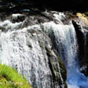 Golden Falls, Oregon Poster