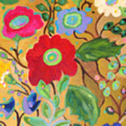 Golden Garden Poster