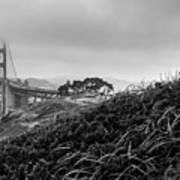 Golden Gate From Godfrey Poster