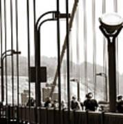 Golden Gate Suspension Poster