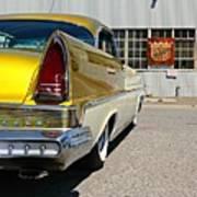Golden Lincoln Poster