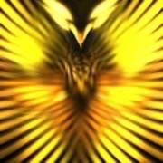Golden Phoenix Poster