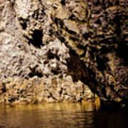Golden Rocks Poster