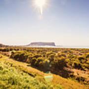 Golden Stanley Landscape Poster
