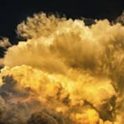 Golden Thunderhead Poster