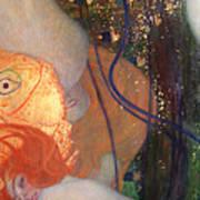 Goldfish Poster by Gustav Klimt