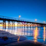 Goleta Pier At Sunrise Poster