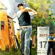 Golf In Club Fontana Austria 01 Dyptic Part 01 Poster