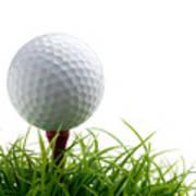 Golfball Poster by Kati Molin