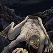 Gollum Descends Poster