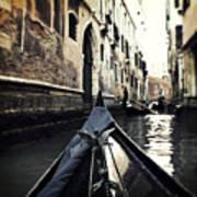 gondola - Venice Poster by Joana Kruse