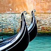 Gondola In Venice 1 Poster