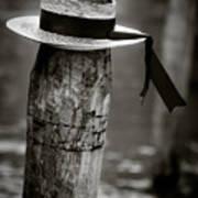 Gondolier Hat Poster