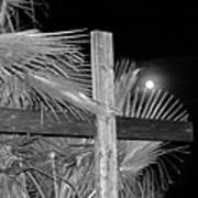 Good  Friday  In  Black  And  White Poster