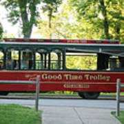 Good Time Trolley Poster