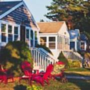 Goose Creek Beach Cottages Poster
