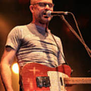 Gord Downie With Telecaster Poster