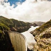 Gordon Dam Tasmania  Poster