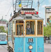 Gothenburg Liseberg Tram Poster