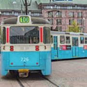 Gothenburg Public Tram Poster