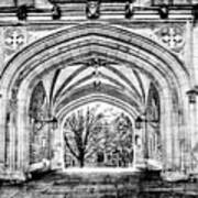 Gothic Architecture At Princeton University  Princeton New Jersey Poster