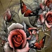 Gothic Roses Poster