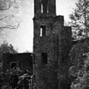 Gothic Tower At Blarney Castle Ireland Poster