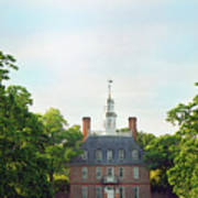 Governor Palace - Williamsburg Poster