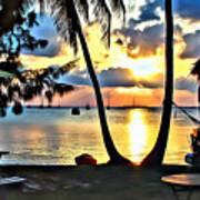 Grabbers Sunset Poster