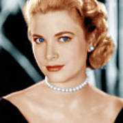 Grace Kelly, Ca. 1953 Poster