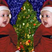 Gracies Christmas Tree Poster