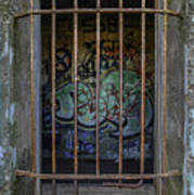 Graffiti Is Barred Poster