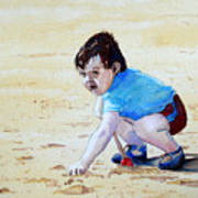 Graham On The Sand Poster