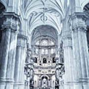 Granada Cathedral Interior Poster