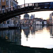 Grand Canal In Venice At Sunrise Poster