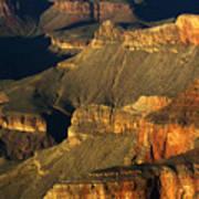 Grand Canyon Arizona Light And Shadow 1 Poster