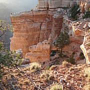 Grand Canyon Bluff Poster