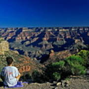 Grand Canyon Meditation Poster