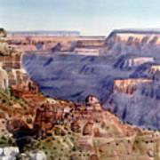 Grand Canyon Morning Poster
