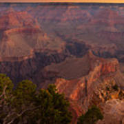 Grand Canyon Morning Light Poster