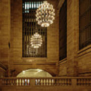 Grand Central Terminal Light Reflections Poster
