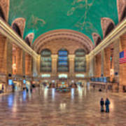 Grand Central Terminal V Poster