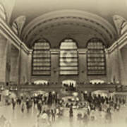 Grand Central Terminal Vintage Poster