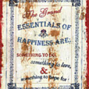 Grand Essentials Of Happiness Poster