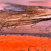 Grand Prismatic Panoramic Abstract Poster
