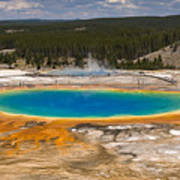 Grand Prismatic Spring Poster