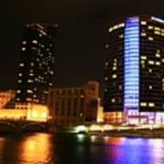 Grand Rapids Mi Under The Lights-4 Poster