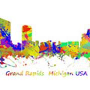 Grand Rapids  Michigan Usa Poster