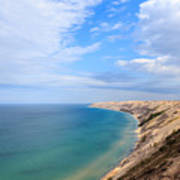 Grand Sable Dunes Overlook In Grand Marais Michigan Poster