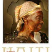 grandma - the people of Haiti series poster Poster